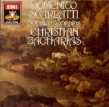 SCARLATTI - Zacharias - Sonate pour clavier en mi majeur K.380 L.23