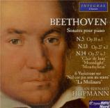 BEETHOVEN - Hupmann - Sonate pour piano n°5 op.10 n°1