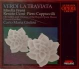 VERDI - Giulini - La traviata, opéra en trois actes live London, ROH, 5 - 5 - 1967