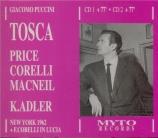 PUCCINI - Adler - Tosca (live MET 7 - 4 - 1962) live MET 7 - 4 - 1962