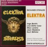 STRAUSS - Mitropoulos - Elektra, opéra op.58 (Live, Wien, 1957) Live, Wien, 1957