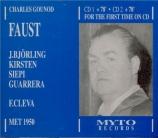 GOUNOD - Cleva - Faust (Live MET 23 - 12 - 1950) Live MET 23 - 12 - 1950