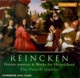 REINCKEN - Purcell Quartet - Hortus Musicus à 2 violons, viole et