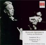 BEETHOVEN - Abendroth - Symphonie n°4 op.60