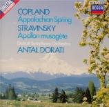 COPLAND - Dorati - Appalachian spring