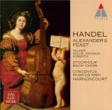 HAENDEL - Harnoncourt - Alexander's feast, masque HWV.75