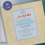 BACH - Kirkpatrick - Le clavier bien tempéré, Livre 2 BWV 870-893