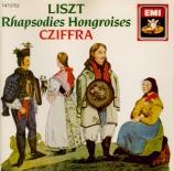LISZT - Cziffra - Rhapsodie hongroise n°2, pour piano en do dièse mineur