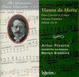 VIANNA DA MOTTA - Pizarro - Concerto pour piano