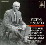 SIBELIUS - De Sabata - Symphonie n°1 op.39