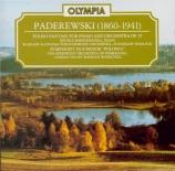 PADEREWSKI - Wodiczko - Symphonie op.24 'Polonie'