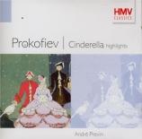 PROKOFIEV - Previn - Cendrillon op.87 : extraits