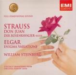 STRAUSS - Steinberg - Don Juan, pour grand orchestre op.20