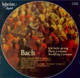 BACH - Parrott - Ich habe genug, cantate pour basse et orchestre BWV.82