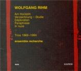 RIHM - Ensemble Recher - Chiffre IV