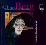 BERG - Leipziger Strei - Quatuor à cordes op.3