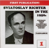Sviatoslav Richter in the 1950s vol.1