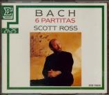 BACH - Ross - Partitas pour clavier BWV 825-830