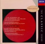 BARTOK - Marriner - Musique pour cordes, percussions et celesta Sz.106 B