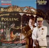 POULENC - Bacquier - Le bestiaire ou Cortège d?Orphée, six mélodies pour