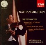 BEETHOVEN - Milstein - Sonate pour violon et piano n°9 op.47 'Kreutzer'