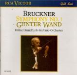 BRUCKNER - Wand - Symphonie n°1 en ut mineur WAB 101