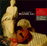RAMEAU - Les Nièces de R - Pièces de clavecin en concerts (1741)