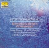 TCHAIKOVSKY - Karajan - Concerto pour piano n°1 en si bémol mineur op.23