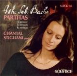 BACH - Stigliani - Partita pour clavecin n°3 BWV 827