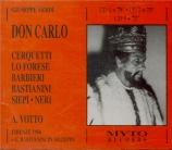 VERDI - Votto - Don Carlo, opéra (version italienne) live Firenze, 16 - 6 - 1956