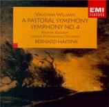 VAUGHAN WILLIAMS - Haitink - Symphonie n°3 'Pastorale'