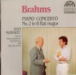BRAHMS - Moravec - Concerto pour piano et orchestre n°2 en si bémol maje