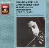 BRAHMS - Neveu - Concerto pour violon et orchestre en ré majeur op.77