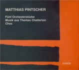 PINTSCHER - Pintscher - Fünf Orchesterstücke