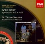 SCHUBERT - Beecham - Symphonie n°3 en ré majeur D.200