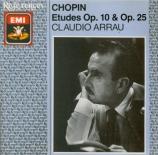 CHOPIN - Arrau - Douze études pour piano op.10