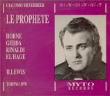 MEYERBEER - Lewis - Le prophète (Live, RAI Torino, 7 - 1970) Live, RAI Torino, 7 - 1970