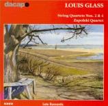 GLASS - Zapolski Quarte - Quatuor à cordes op.23 n°2