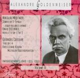 Alexandre Goldenweiser Vol.3