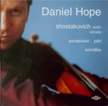 CHOSTAKOVITCH - Hope - Sonate pour violon et piano op.134