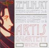 ZEMLINSKY - Artis Quartet - Quatuor à cordes n°3 op.19