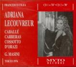 CILEA - Masini - Adriana Lecouvreur (Live, Tokyo 20 - 09 - 1976) Live, Tokyo 20 - 09 - 1976
