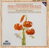 MOZART - Bilson - Concerto pour piano et orchestre n°22 en mi bémol maje