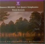 BRAHMS - Rowicki - Symphonie n°1 pour orchestre en do mineur op.68