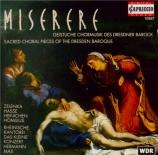 Miserere Geistliche Chormusik des Dresdner Barock