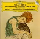 BERG - Abbado - Altenberg Lieder op.4