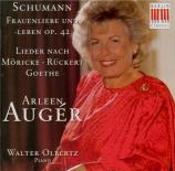 SCHUMANN - Auger - Frauenliebe und -Leben (L'amour et la vie d'une femme