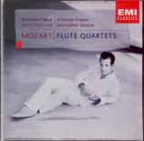 MOZART - Pahud - Quatuor pour flûte et cordes n°1 en ré majeur K.285