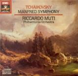 TCHAIKOVSKY - Muti - Symphonie 'Manfred' pour orgue et orchestre en si m