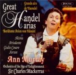 HAENDEL - Murray - Airs d'opéras